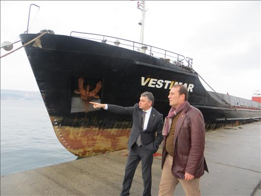 Mr. Harun KARACAN, Chairman of BALO has visited Tekirdag terminal